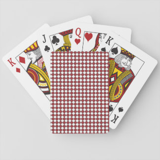 Standard Index Playing Cards Red Checked