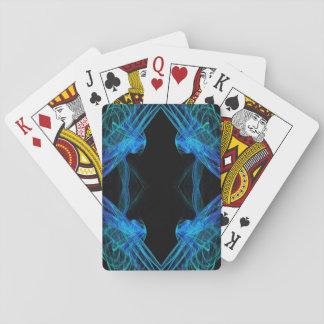 Standard Index Playing Crds Abstract Fractal Desig Poker Deck