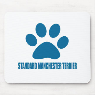 STANDARD MANCHESTER TERRIER DOG DESIGNS MOUSE PAD