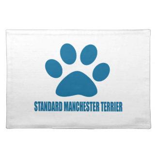 STANDARD MANCHESTER TERRIER DOG DESIGNS PLACEMAT
