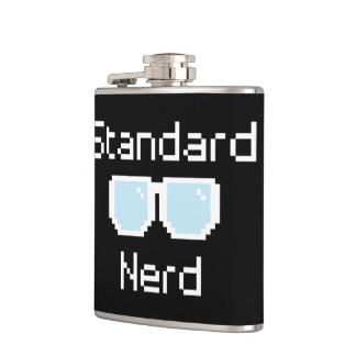 Standard Nerd Hip Flask