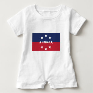 Standard of the governor of Hawaiʻi Baby Romper