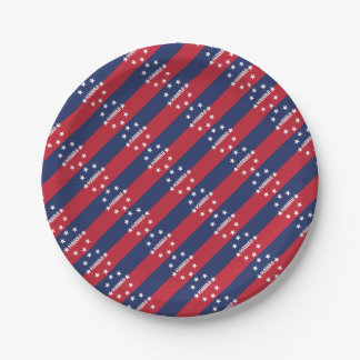 Standard of the governor of Hawaiʻi Paper Plate