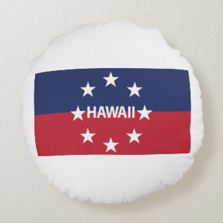 Standard of the governor of Hawaiʻi Round Pillow