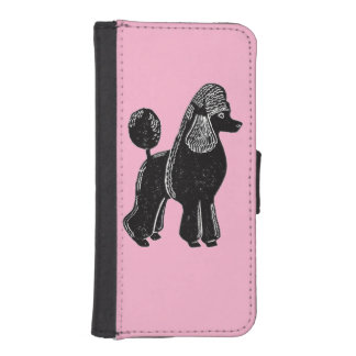 Standard Poodle iPhone 5/Samsung Galaxy S4 Wallet