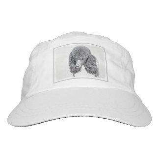 Standard Poodle Parti Painting - Original Dog Art Hat
