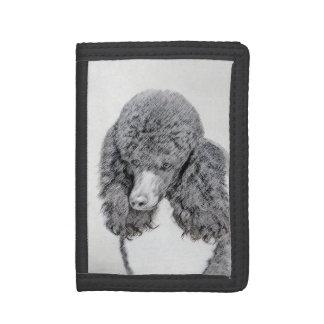 Standard Poodle (Parti) Trifold Wallet