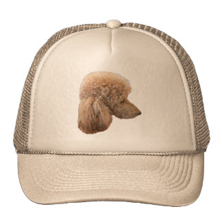 STANDARD RED POODLE TRUCKER HAT