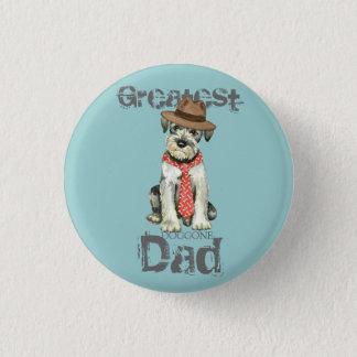 Standard Schnauzer Dad 1 Inch Round Button