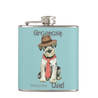 Standard Schnauzer Dad Flasks