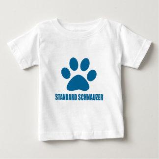 STANDARD SCHNAUZER DOG DESIGNS BABY T-Shirt