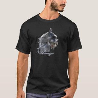 Standard Schnauzer Head T-Shirt