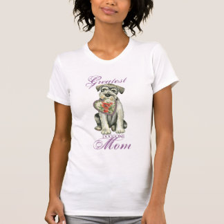 Standard Schnauzer Heart Mom T-Shirt