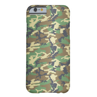 Standard Woodland Camo Barely There iPhone 6 Case
