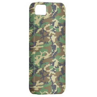 Standard Woodland Camo iPhone 5 Cases