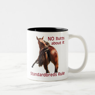 Standardbreds Rule Two-Tone Coffee Mug