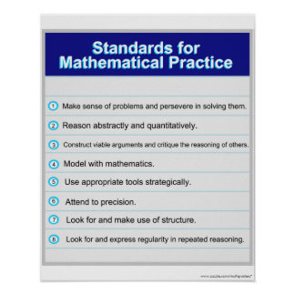 Standards for Mathematical Practice Poster