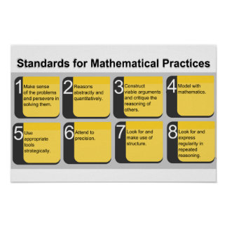 Standards for Mathematical Practices Poster