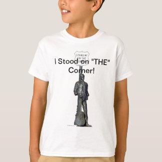 "Standin' on ""THE"" Corner! in Winslow Arizon T-Shirt"