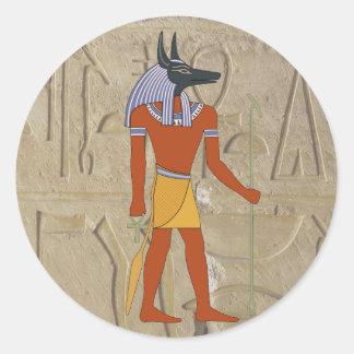 Standing Anubis Sticker