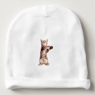 Standing cat - kitty - pet - feline - pet cat baby beanie