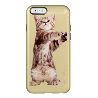 Standing cat - kitty - pet - feline - pet cat incipio feather® shine iPhone 6 case