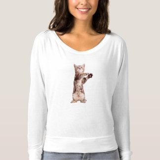 Standing cat - kitty - pet - feline - pet cat t-shirt
