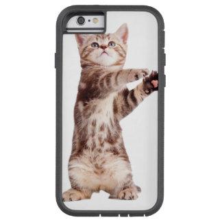 Standing cat - kitty - pet - feline - pet cat tough xtreme iPhone 6 case
