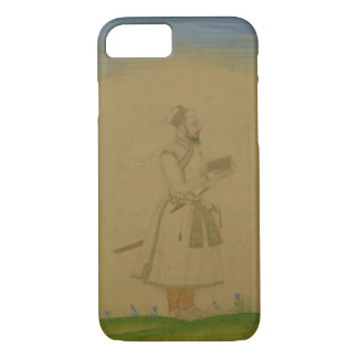 Standing figure of a nobleman, holding a book, fro iPhone 7 case