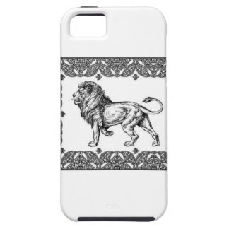Standing Framed lion iPhone 5 Cover