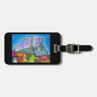 Standing Guard Luggage Tag