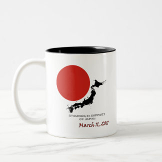 Standing In Support Of Japan Mug