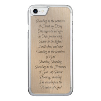 Standing on the Promises of God Carved iPhone 8/7 Case