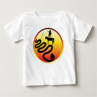 Standing Rock Black Snake Baby T-Shirt