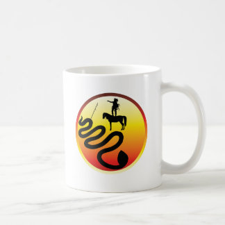 Standing Rock Black Snake Coffee Mug