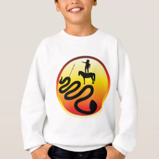 Standing Rock Black Snake Sweatshirt