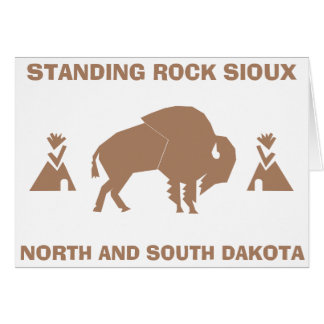 Standing Rock Sioux Card