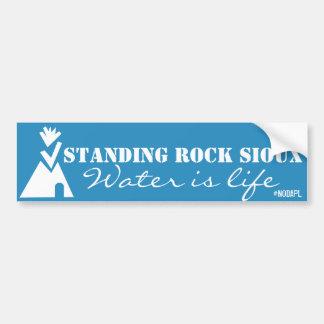 Standing Rock Sioux NoDAPL Bumper Sticker