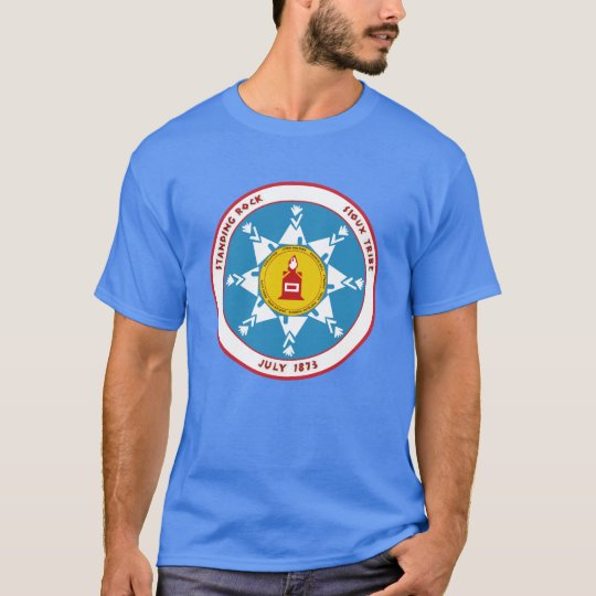 Standing Rock Sioux Seal Flag T-Shirt