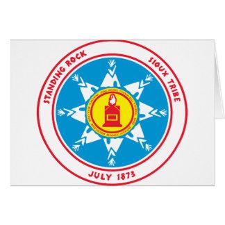 Standing Rock tribe logo Card
