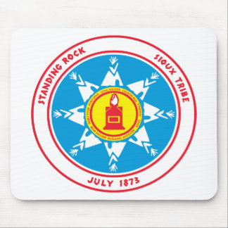 Standing Rock tribe logo Mouse Pad
