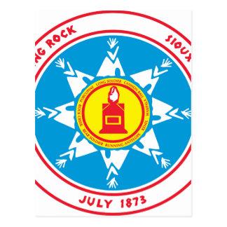 Standing Rock tribe logo Postcard