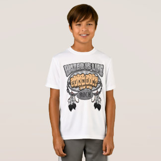 Standing Rock Water is Life Fists T-Shirt