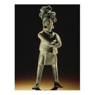 Standing royal figure postcard