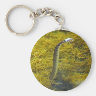 Standing Snake keychain