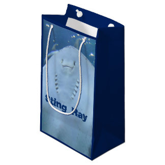 Standing Sting Ray Gift Bag