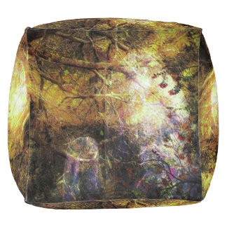 Standing Stones; Echoes of The Ancients Lg Pouf
