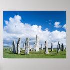 Standing Stones of Callanish 2 Poster