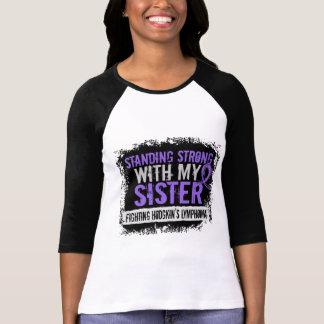 Standing Strong Sister Hodgkins Lymphoma T-Shirt