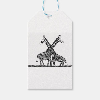 Standing tall pack of gift tags